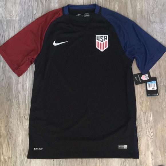 55e334fc969 Nike US Men s National Soccer Jersey DriFit Sz M